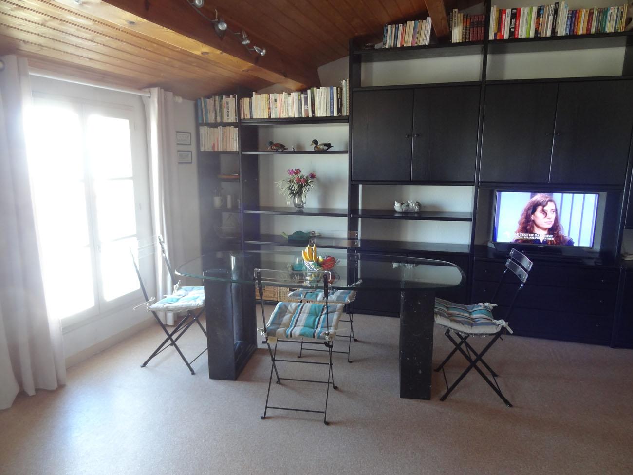Location Appartement Ile de Ré - Ombrine - Salon