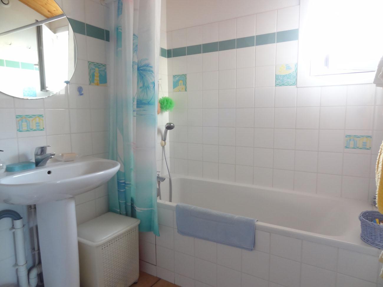 Location appartement Ile de Ré - Silène - Salle de bain