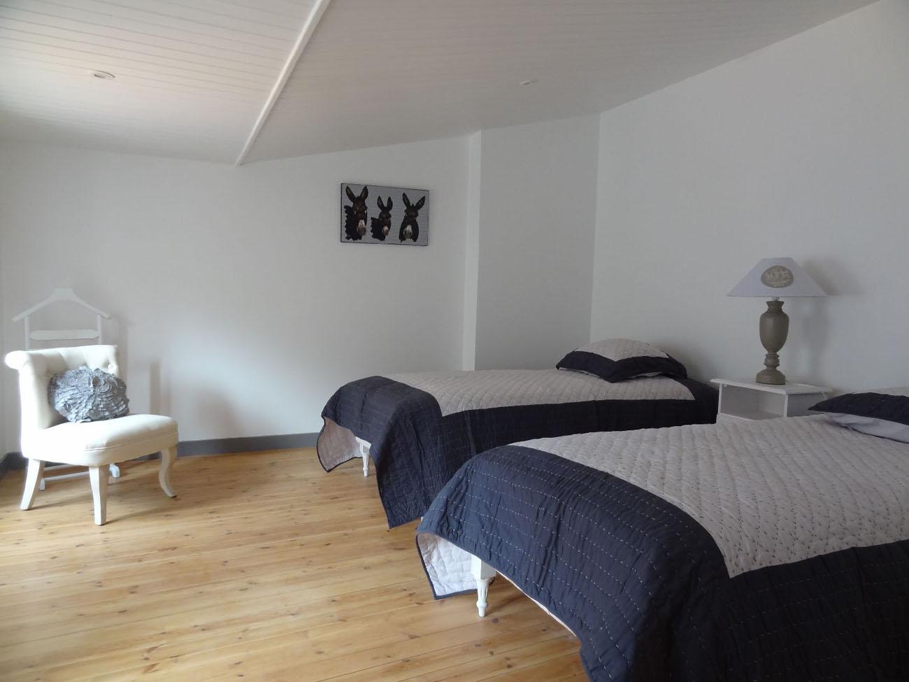 Location Appartement Ile de Ré - Sully - Chambre 3