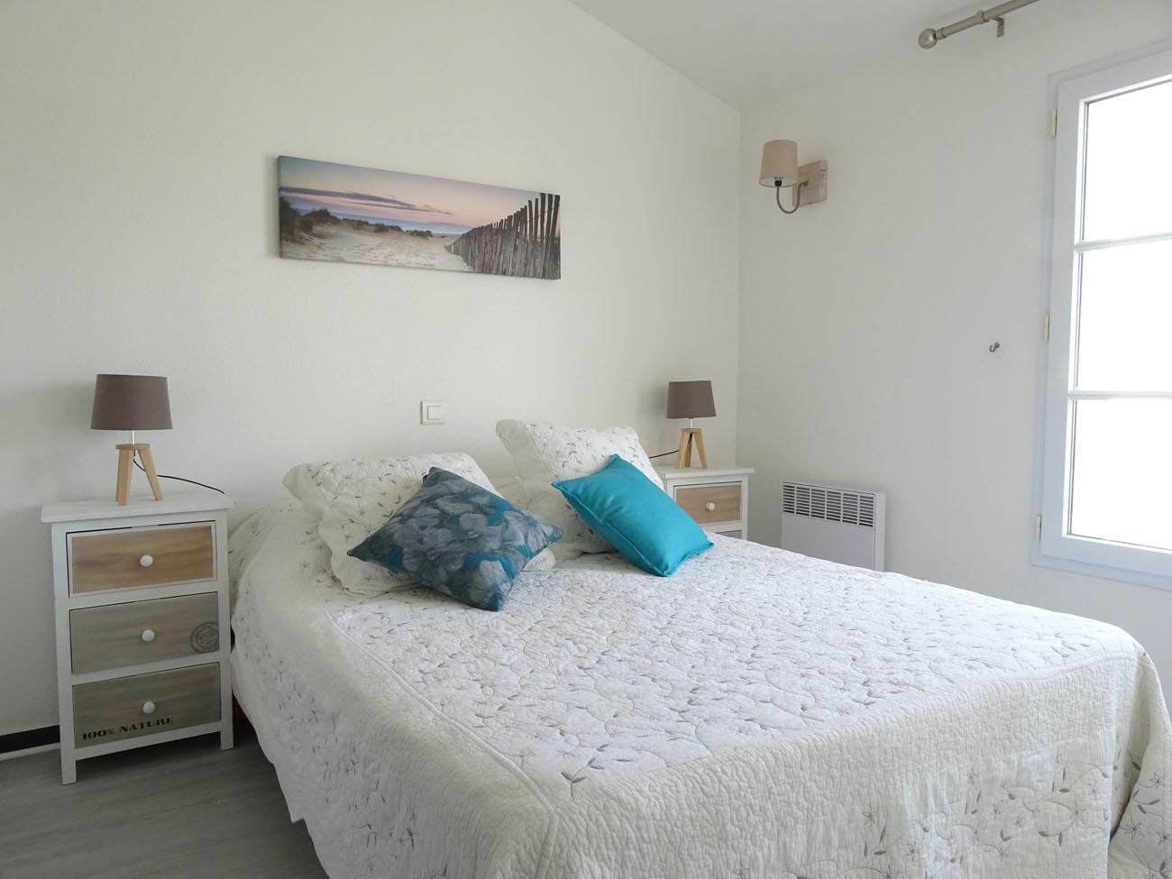 Location Appartement Ile de Ré - Valene - Chambre 1