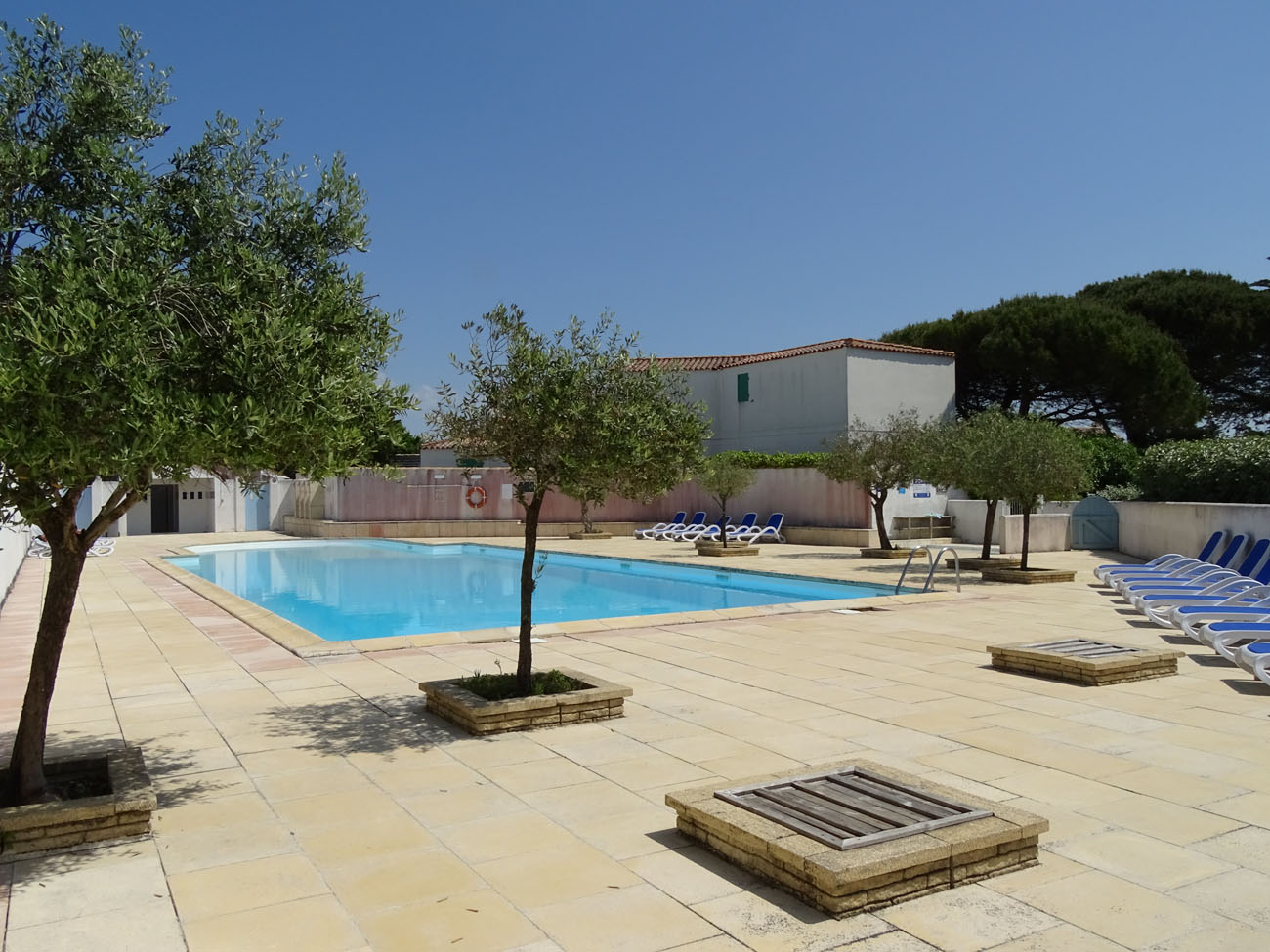 Location Appartement Ile de Ré - Valene - Piscine