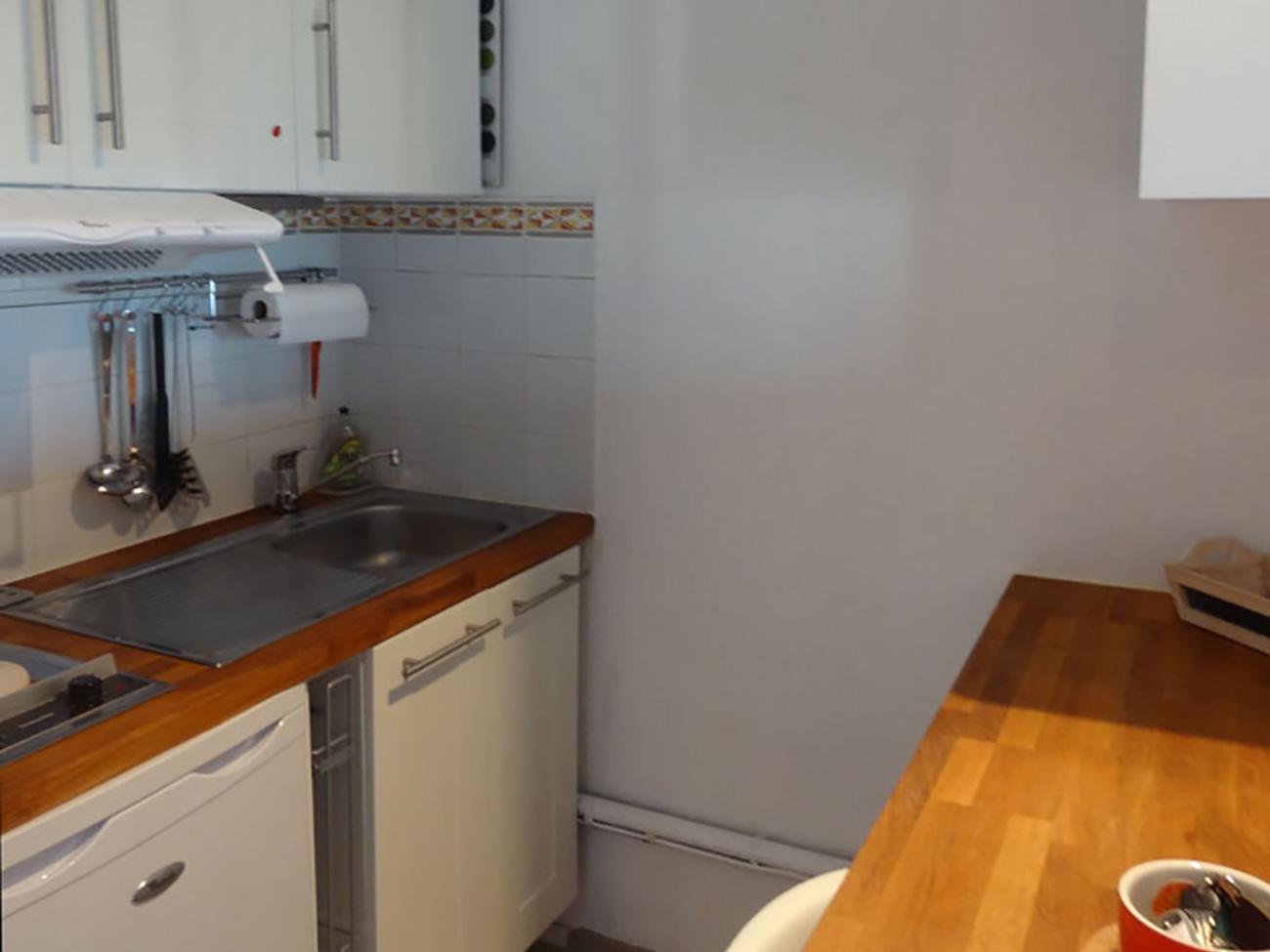 Location Appartement Ile de Ré - Vue-Mer - Cuisine