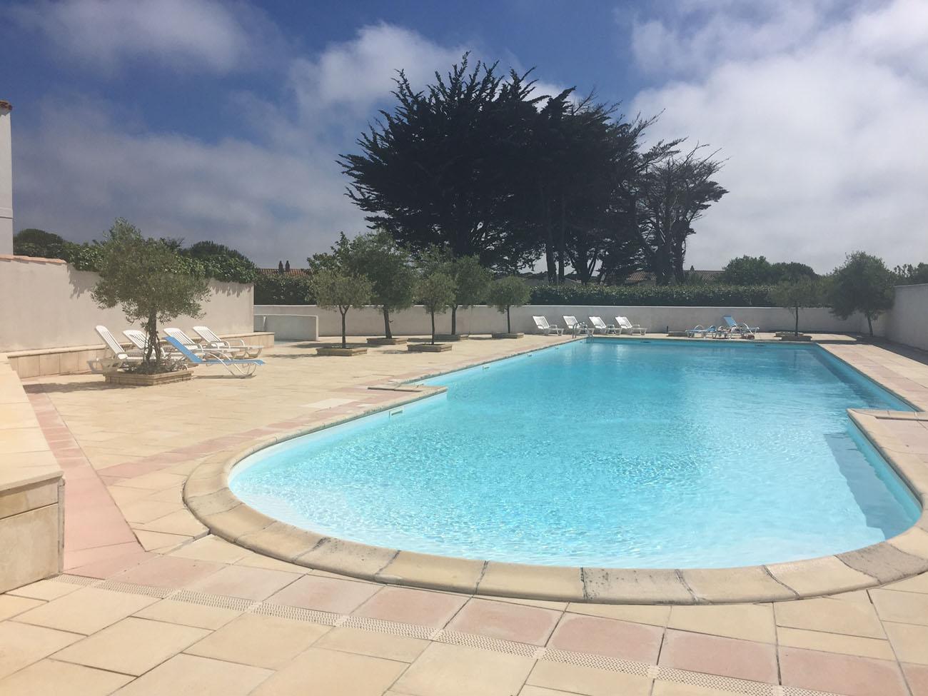 Location Appartement avec piscine sur l'Ile de Ré