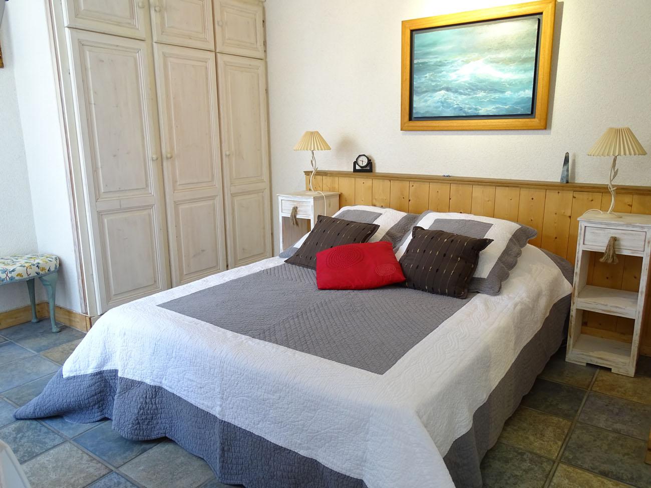 Location Maison Ile de Ré - Etrille - Chambre 1