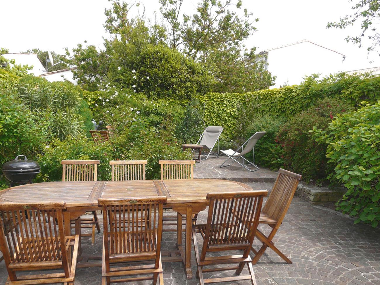 Location Maison Ile de Ré - Fleur-de-sel - Terrasse 1