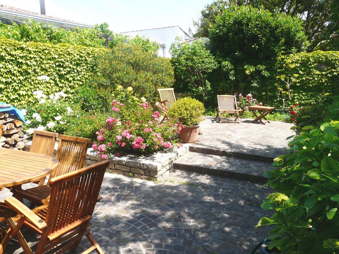 Location Maison Ile de Ré - Fleur-de-sel - Terrasse 2