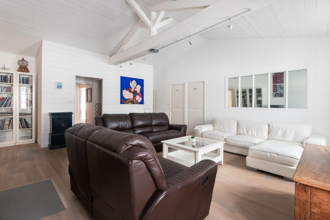 Location Maison Ile de Ré - La Suite - Salon 2