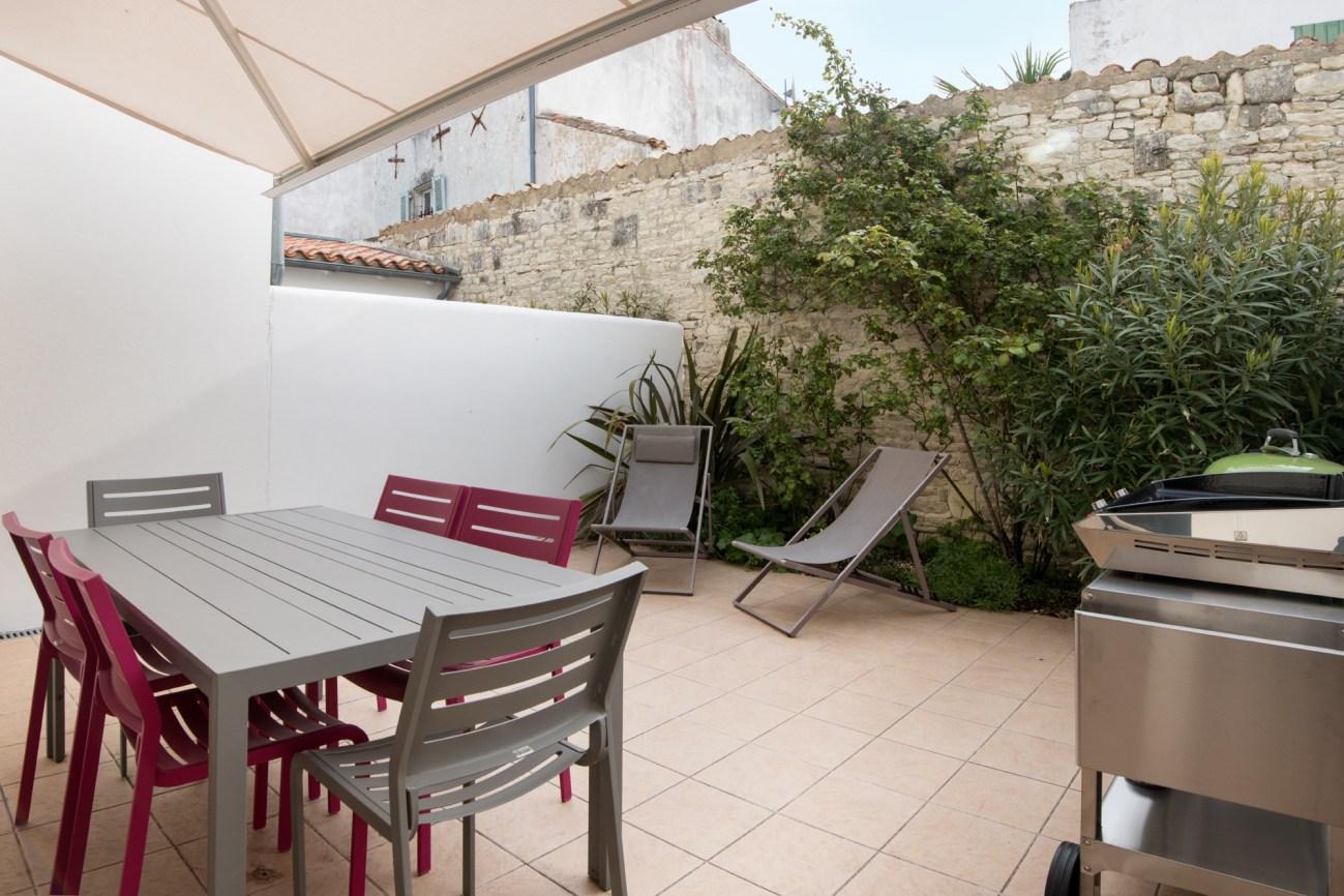 Location Maison Ile de Ré - Telline - Terrasse