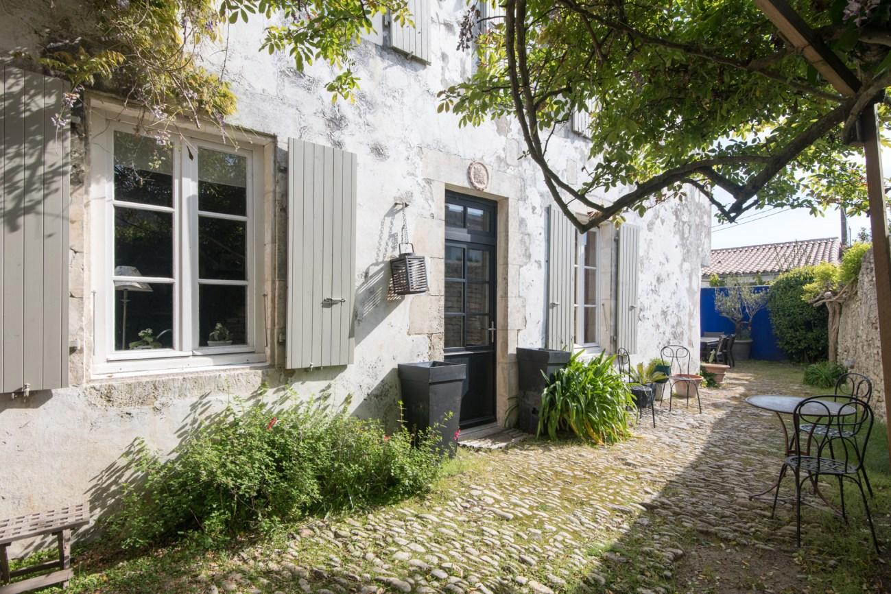 Location Maison Ile de Ré - Vieux Porche - Facade