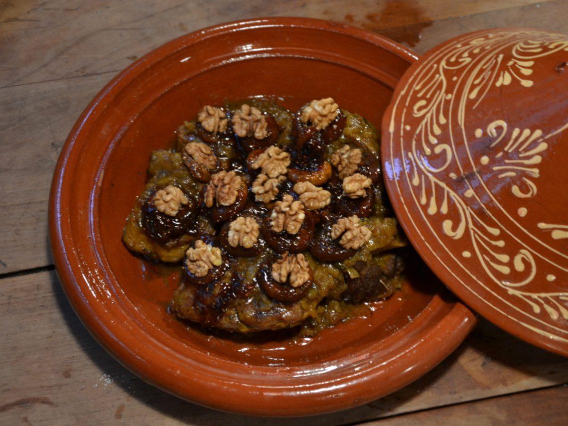 Repas chez Amina, cuisine marocaine