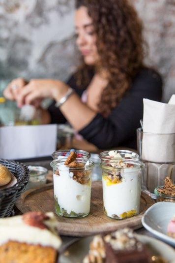 Yoghurt Barn Product fotografie