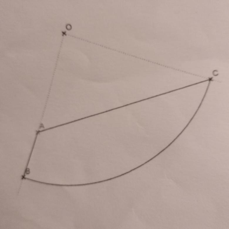 arc de cercle et quart de cercle