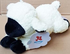 agneau mouton peluche blanc creme et noir