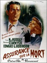 Assurance sur la mort (Double Indemnity – Billy Wilder, 1944)