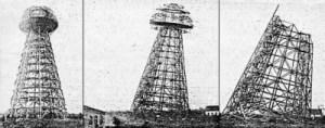 La torre di Tesla abattuta dai marins nel 1971