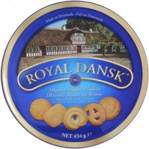 Royal Dansk biscotti danesi