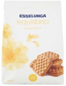 esselunga equilibrio biscotti integrali