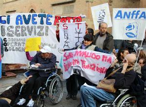 Risultati immagini per disabili dimenticati