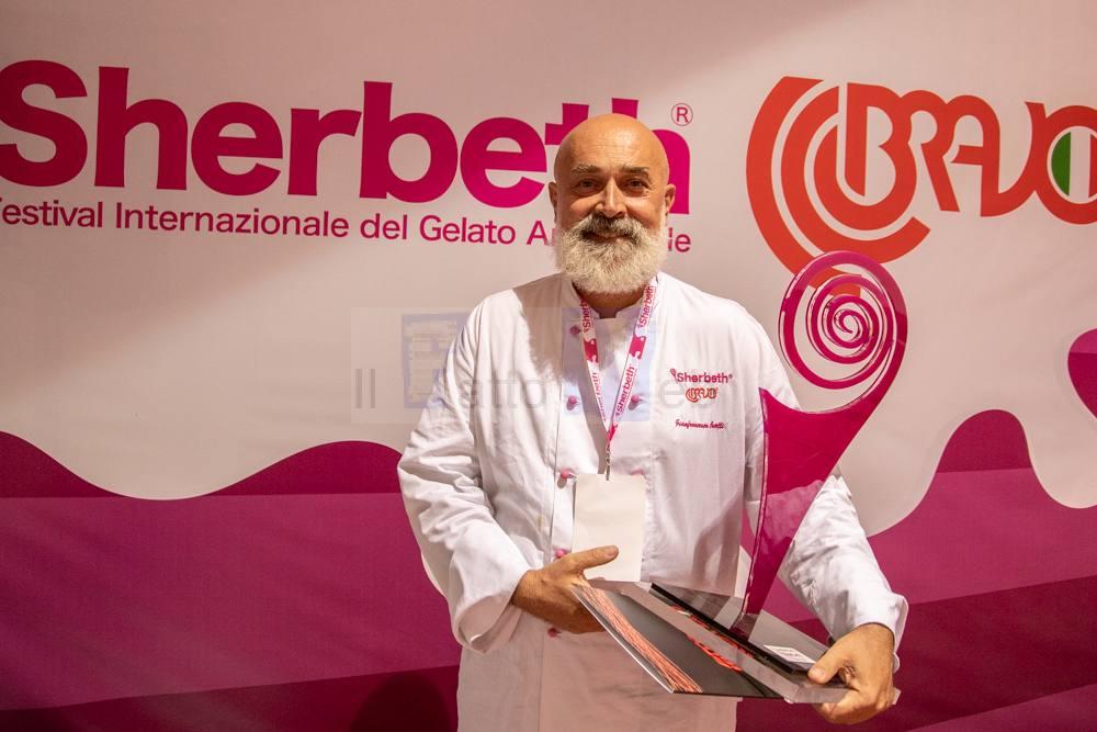 Vince lo Sherbeth Festival il maestro gelatiere Gianfrancesco Cutelli