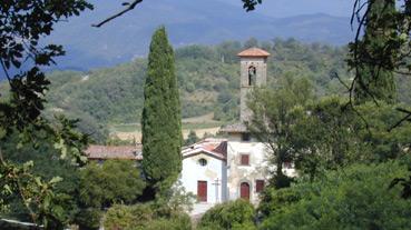 Panorama di  Barbiana, foto di Andrea Lapi