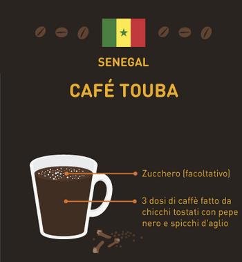 caffè del mondo Senegal