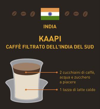 caffè del mondo India