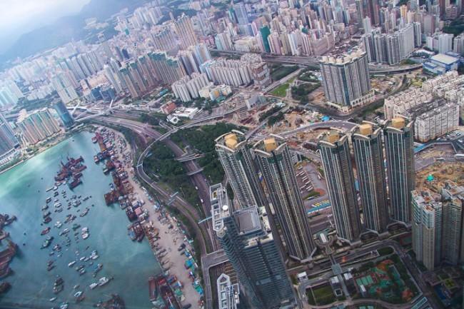 Ritz Carlton hotel Hong-Kong