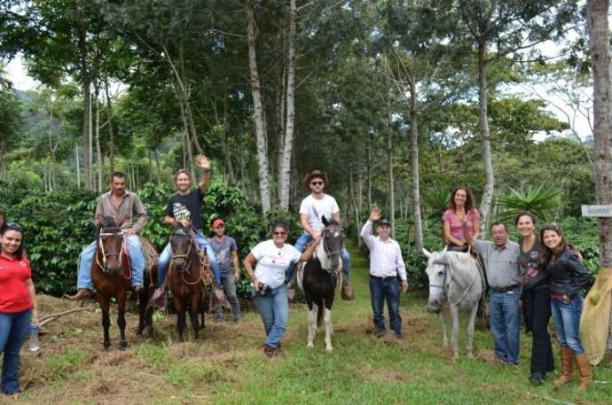 Barista efarmer_gruppo produzione in Honduras