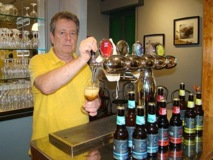 Edo Volpi e birra