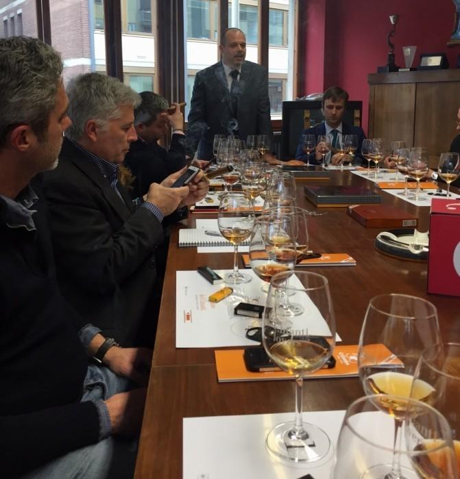 sigari cohiba e vinsanto del Chianti - il Forchettiere