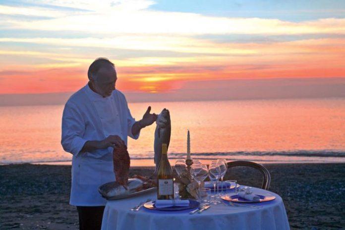 ristorante pineta zazzeri costa degli Etruschi