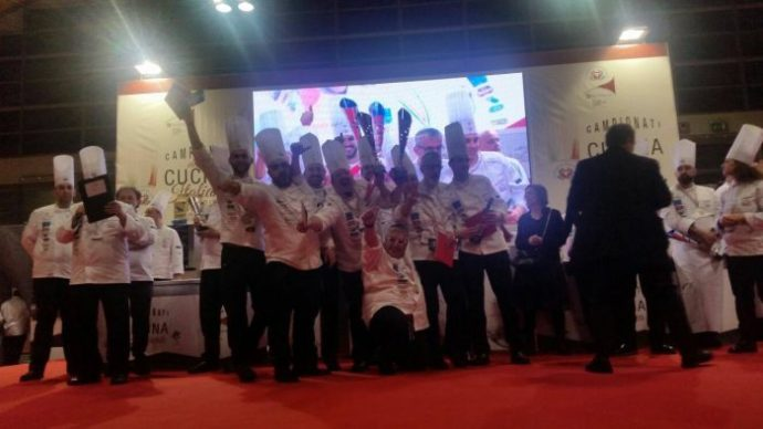 campionati di cucina FIC team Toscana 2017