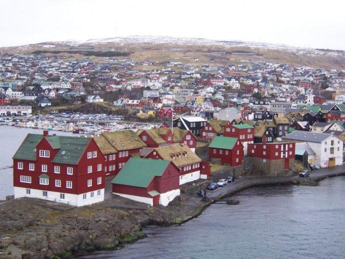 Torshavn isole Fær Øer