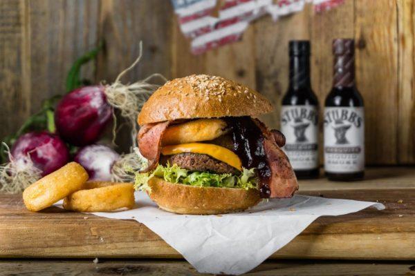 hamburger bacon