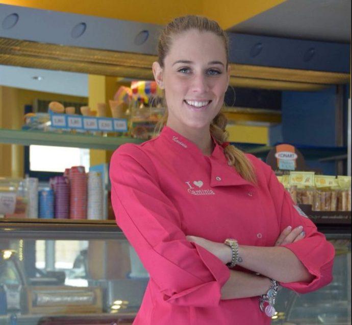 La favola dolce di Lavinia Mannucci, da gelatiera a miss Toscana (e ritorno)