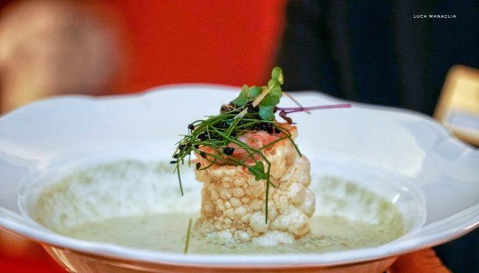 piatto cena relais le jardin firenze hotel regency chef