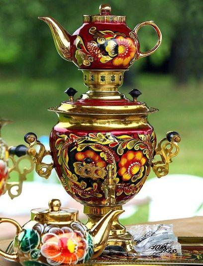 samovar cerimonia tè russia