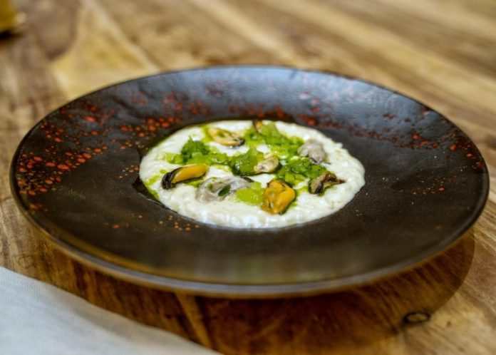 risotto ostriche chef Salvo Pellegriti