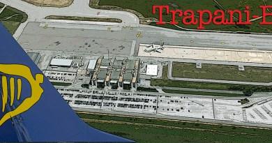 Aeroporto di Trapani Birgi in Sicilia