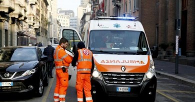 Incidente stradale a Catania