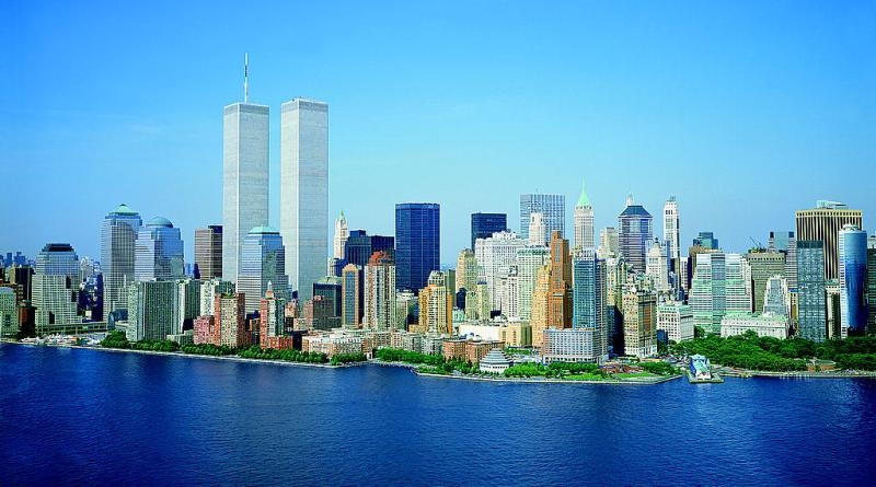 Le Torri Gemelle prima dell'11/9