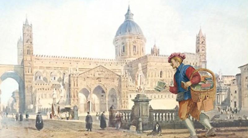 La via dei librai al Cassaro di Palermo