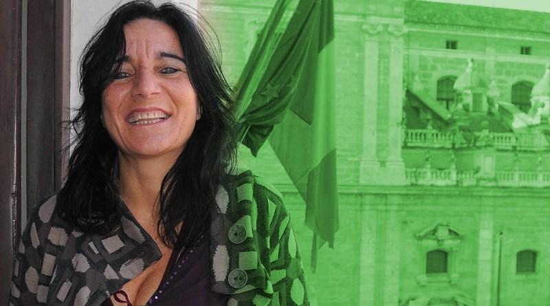 Nadia Spallitta, unica donna canditata sindaco di Palermo