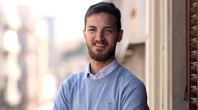 Danilo Stagno, candidato consigliere comunale di Palermo nella lista dei Coraggiosi, che sostiene Ferrandelli