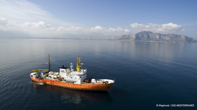 Nave Aquarius SOS Mediterranee