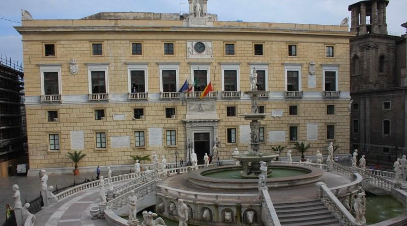 Palazzo delle Aquile, Comune di Palermo