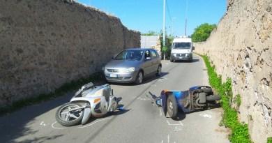 Palermo, incidente via Nave