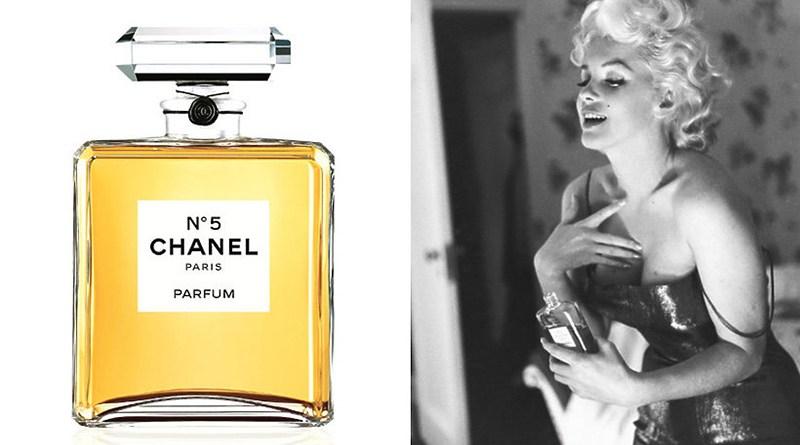 Marilyn Monroe e le due gocce di Chanel n°5 che metteva prima di andare a letto