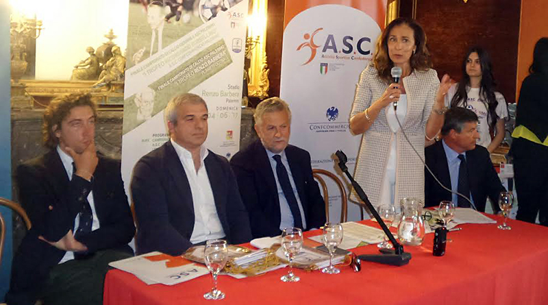 Presentazione trofei Borsellino e Barbera