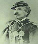Carlo Di Rudio in divisa di ufficiale dell'esercito statunitense
